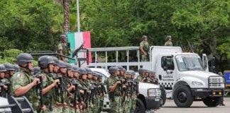 El presidente, Andrés Manuel López Obrador informó que el despliegue de la Guardia Nacional (GN) avanza sin contratiempos, por lo que sus elementos ya están en 132 de las 150 regiones creadas de manera inicial.