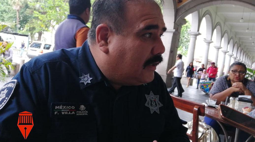 El director de Seguridad Ciudadana y Tránsito Municipal, Francisco Villa dijo que aún no hay fecha para que se pueda otorgar armas a los 140 policías municipales en Xalapa.