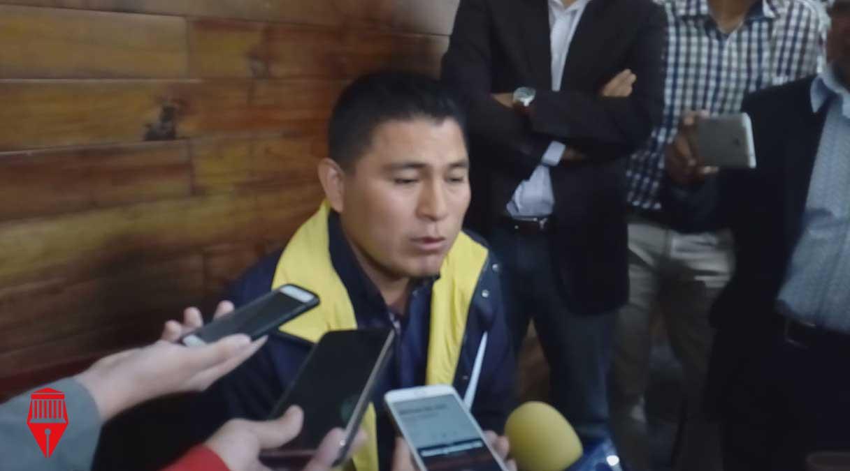 El presidente municipal de Zongolica, Juan Carlos Mezhua dio a conocer que existen indicios de los posibles autores de las amenazas a su persona el 2 de julio pasado.