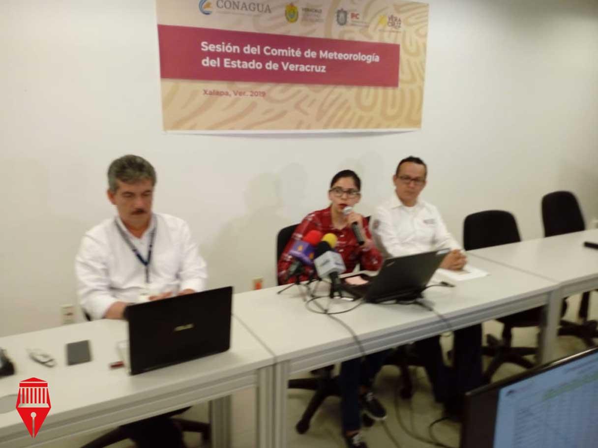 La jefa de Hidrometeorología de la Comisión Nacional del Agua (Conagua), Jessica Luna Lagunes informó que este 2019 es el año más seco para Veracruz desde 1981.