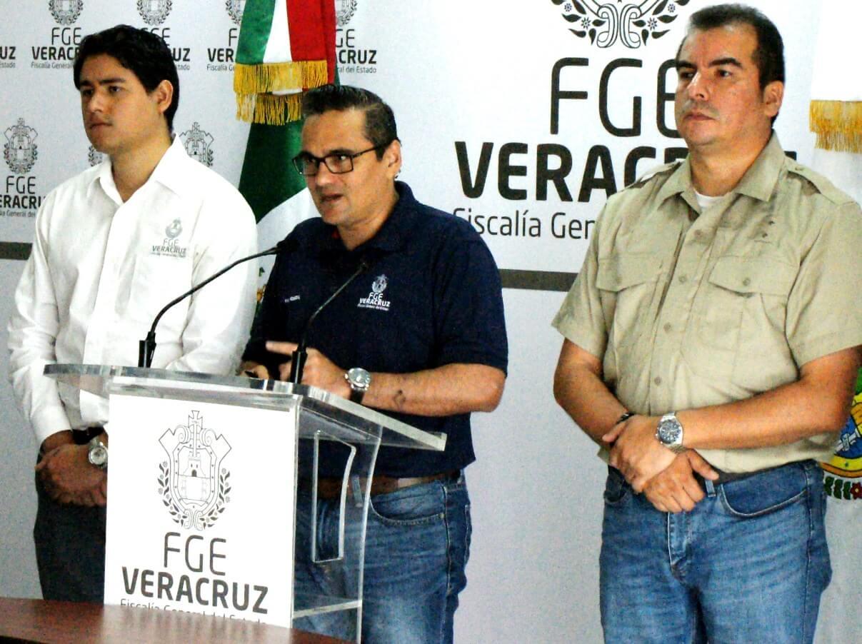 La Fiscalía General del Estado de Veracruz informa que:
