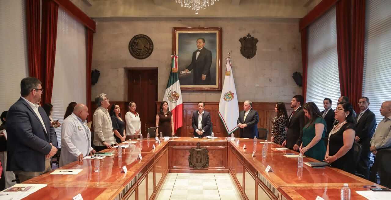 El gobernador Cuitláhuac García Jiménez tomó protesta a los integrantes del Sistema para la Igualdad entre Mujeres y Hombres en el Estado de Veracruz, que tiene entre sus principales objetivos garantizar la igualdad de oportunidades y erradicar los estereotipos que fomentan la desigualdad.