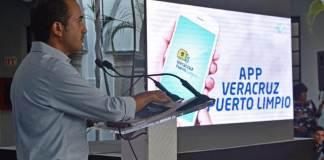 El Presidente Municipal de Veracruz, Fernando Yunes Márquez presentó este martes la App Veracruz Puerto Limpio, con la cual se busca brindar un servicio eficiente de recolección de residuos, al brindar una respuesta rápida a las necesidades urbanas, apoyándose en la innovación tecnológica y gubernamental.