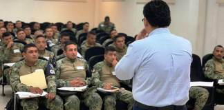 Con la finalidad de eficientar las labores operativas de la recién creada Guardia Nacional, la Fiscalía Regional de la Zona Centro Veracruz impartió un Curso de Capacitación interactivo a elementos adscritos a la Guardia Nacional Zona Veracruz.