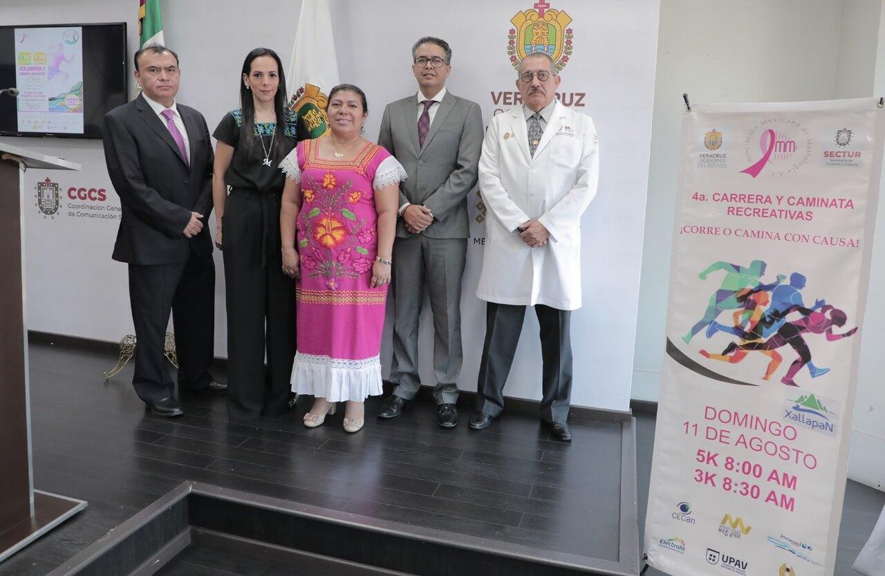 Las Secretarías de Turismo y Cultura (SECTUR) y de Salud (SS) presentaron el XVI Congreso Nacional de Mastología y la XIII Reunión Internacional a realizarse en esta ciudad capital del 07 al 10 de agosto, con el fin de que nuevamente se realicen congresos nacionales e internacionales en Veracruz, en coordinación con el gobierno del estado.