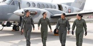 La Secretaría de Marina (SEMAR) informó acerca de la creación de la primer tripulación aérea integrada únicamente por mujeres.