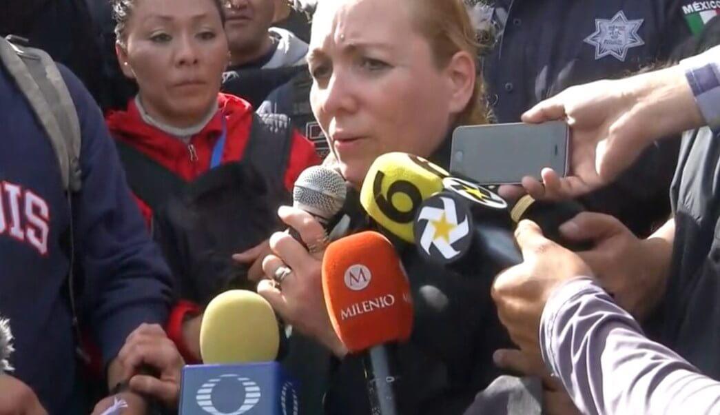 Este miércoles, la coordinadora de la Guardia Nacional, Patricia Rosalinda Trujillo Mariel fue agredida por elementos de la Policía Federal, cuando llegaba a la sede policial de Iztapalapa, donde uniformados se manifiestan contra su traspaso a la nueva corporación.