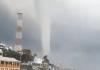 Este jueves, el subcoordinador de Fenómenos Atmosféricos de la Secretaría de Protección Civil (PC), Federico Acevedo Rosas reportó una tromba marina, captada a las 8:50 de la mañana en Coatzacoalcos.