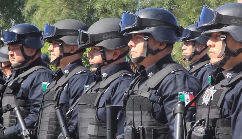 El presidente, Andrés Manuel López Obrador reveló que sólo la Ciudad de México, Quintana Roo y Tabasco tienen más policías que el promedio recomendado.