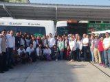 La Secretaría de Salud, a través de la Jurisdicción Sanitaria XI de Coatzacoalcos, realiza jornadas de descacharrización y fumigación para combatir el dengue, chikungunya y zika, en los municipios de: Coatzacoalcos, Minatitlán, Nanchital, Hidalgotitlán, Uxpanapa, Las Choapas, Jáltipan, Moloacán, Zaragoza, Ixhuatlán del Sureste, Agua Dulce, Cosoleacaque, Oteapan, Chinameca, Mecayapan, Soteapan, Pajapan y Tatahuicapan.