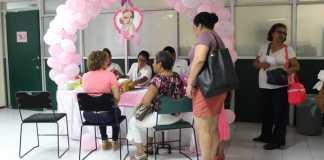 En seis días se han beneficiado 1001 derechohabientes durante Campaña de Mastografías que realiza la Delegación en Veracruz Norte, del Instituto Mexicano del Seguro Social (IMSS), en la ciudad de Veracruz tan sólo en la unidad móvil que se encuentra instalada en la Unidad de Medicina Familiar No 57.