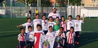 La Escuela de Fútbol Chivas Veracruz se proclamó campeón de campeones de la temporada 2018-2019 de la Liga Roberto Oropeza González, tras imponerse en la gran final de la categoría Infantil BB sobre el cuadro del Real Junior.