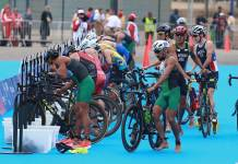 El triatleta olímpico xalapeño Crisanto Grajales realiza campamento de altura en Perote, Veracruz. Planificando físicamente la temporada 2020, reveló su entrenador nacional, Eugenio Chimal Domínguez.