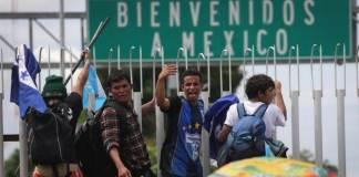 El secretario de Relaciones Exteriores, Marcelo Ebrad dio a conocer que entre mayo y agosto disminuyó un 56 por ciento el flujo migratorio hacia Estados Unidos.