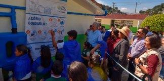 """La primaria """"Jesús Reyes Heroles"""" de Xalapa es la primera institución educativa del estado de Veracruz en integrarse al programa """"Escuelas de Lluvia"""" de la Organización de las Naciones Unidas (ONU) Medio Ambiente."""