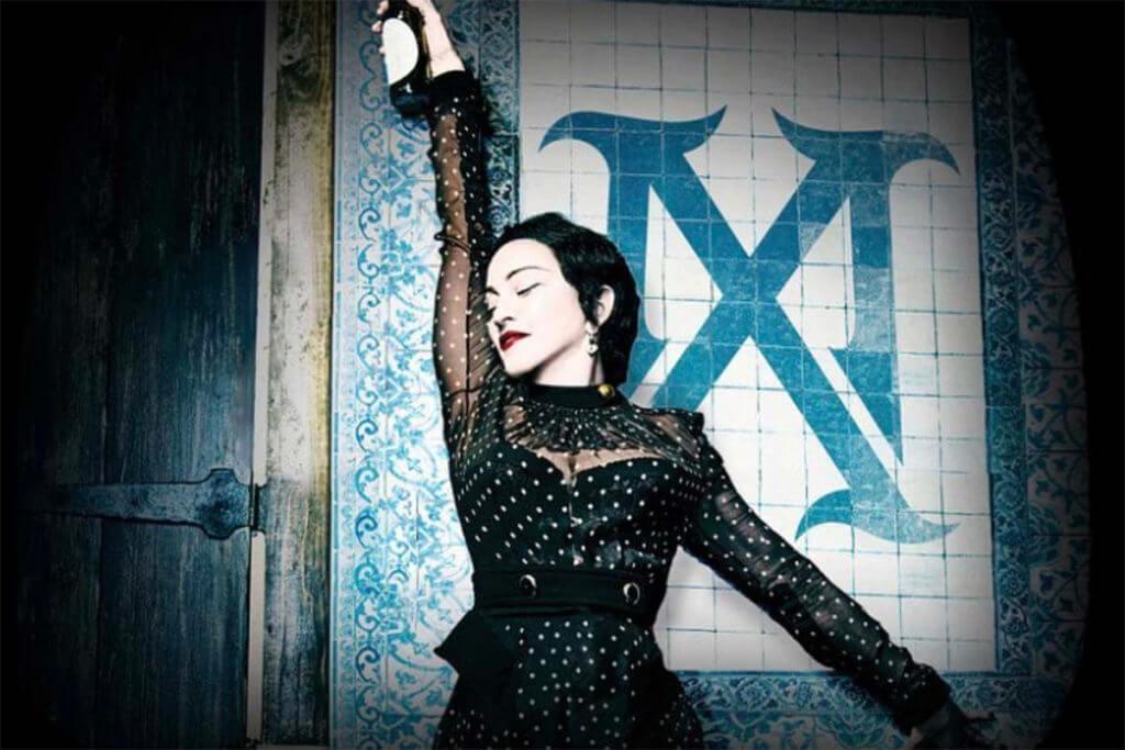Madonna comenzó la gira mundial de su último álbum,