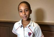 La tenista infantil veracruzana Romina Domínguez se alista para sus próximas competencias, entre ellas: la Copa de Tenis Valentín Ruiz Obregón y el Torneo Nacional Máster que reunirá a los 16 mejores jugadores por categoría de todo el país.