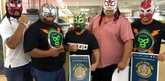 """La Lucha Libre Veracruzana continúa generando talento a nivel profesional, inclusive por encima de situaciones extra-cuadrilatero, señaló el gladiador porteño, """"Black Baby""""."""