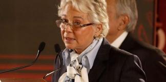 La titular de la Secretaría de Gobernación (Segob), Olga Sánchez Cordero destacó el apoyo de las Fuerzas Armadas que permitirá consolidar la pacificación del país y la paz social.