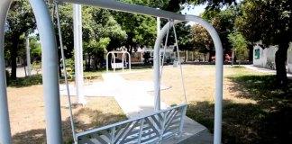Este jueves, el presidente municipal de Veracruz, Fernando Yunes Márquez inauguró las obras de rehabilitación de los parques Aluminio y Framboyanes 2, ubicados en el fraccionamiento Infonavit Buenavista.