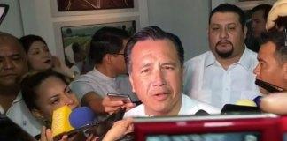 El gobernador, Cuitláhuac García Jiménez respondió a los comentarios de senadores del Partido Acción Nacional (PAN) para destituirlo del cargo, por crisis constitucional.