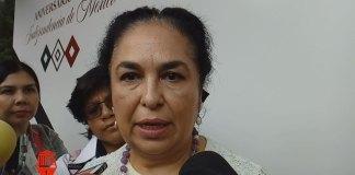 La rectora de la Universidad Veracruzana (UV), Sara Ladrón de Guevara González informó que no se ha reunido con la encargada de despacho de la Fiscalía General del Estado (FGE), Verónica Hernández Giadans.