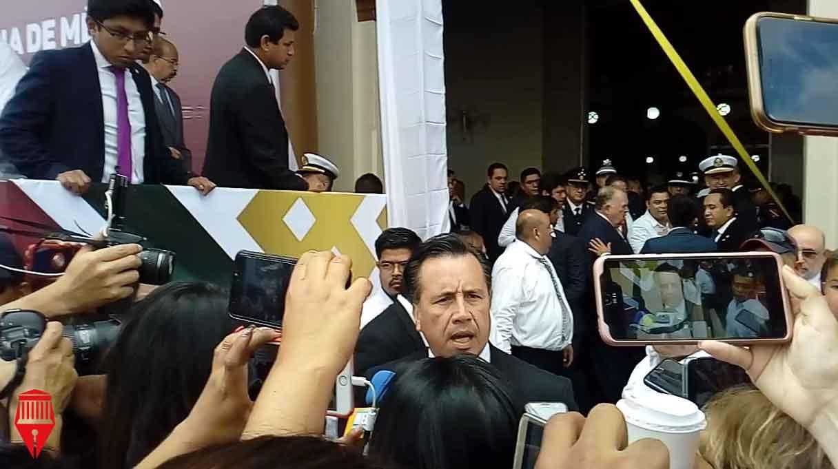 Durante los festejos por el 209 aniversario de la Independencia de México, hubo