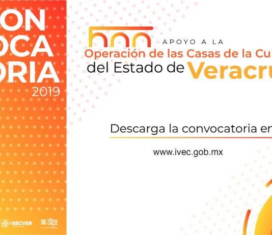 El Instituto Veracruzano de la Cultura (IVEC) invita a los directivos de Casas de Cultura, a participar en la segunda convocatoria de Apoyo a la Operación de estos recintos en el estado de Veracruz.