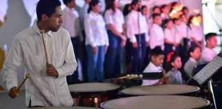 """La Secretaría de Educación de Veracruz (SEV) presentó el proyecto """"Desarrollo de Habilidades Musicales"""", con la finalidad de promover la integración de orquestas y coros infantiles y juveniles en escuelas de tiempo completo."""
