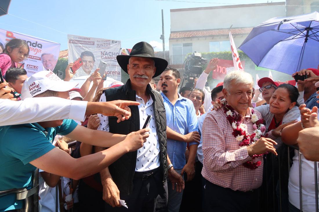 El presidente, Andrés Manuel López Obrador pidió