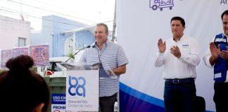"""Este martes, arrancó la campaña """"Ciudad Limpia, Ciudad de Todos"""", en Boca del Río, por parte del alcalde, Humberto Alonso Morelli y su equipo operativo del ayuntamiento, así como vecinos de diferentes colonias que se están sumando a esta campaña."""