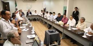 La Secretaría de Desarrollo Agropecuario, Rural y Pesca (Sedarpa) se reunió con inversionistas de la empresa Railway Engineering Corporation y directivos del Bank of China, en la sede de la Cámara Nacional de la Industria de la Transformación (CANACINTRA).