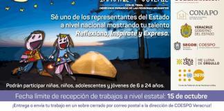 """El Consejo Estatal de Población (COESPO) invita a niñas, niños, adolescentes y jóvenes, de seis a 24 años de edad, a participar en el XXVI Concurso Nacional de Dibujo y Pintura Infantil y Juvenil, que organizan el Consejo Nacional de Población (CONAPO) y el Fondo de Población de las Naciones Unidas (UNFPA) con el tema """"Derechos humanos de las personas migrantes""""."""