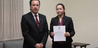 Este viernes, Leslie Mónica Garibo Puga renunció al cargo como Contralora general del estado.