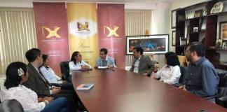Este jueves se llevó a cabo la firma de un convenio entre la Universidad de Xalapa y el Colegio de Ingenieros Mecánicos Electricistas de Veracruz delegación Xalapa.