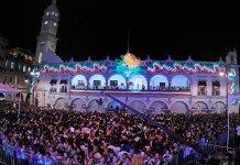 El h. Ayuntamiento de Veracruz invita a las actividades artísticas y culturales a realizarse en el Zócalo de la ciudad el próximo 15 de septiembre, con motivo del 209 aniversario del Grito de Independencia.