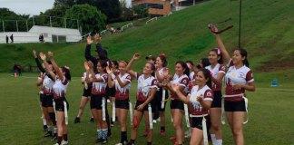 Este miércoles, el Jaguares UX de Tocho Femenil ganaron por marcador de 45 a 20, en el enfrentamiento contra Leones Universidad Anáhuac Xalapa.