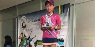 La tenista veracruzana, Romina Domínguez hizo válidos los pronósticos y se proclamó como campeona del Nacional Grado 2 de tenis que se celebró en la ciudad de Villahermosa, Tabasco durante esta semana.