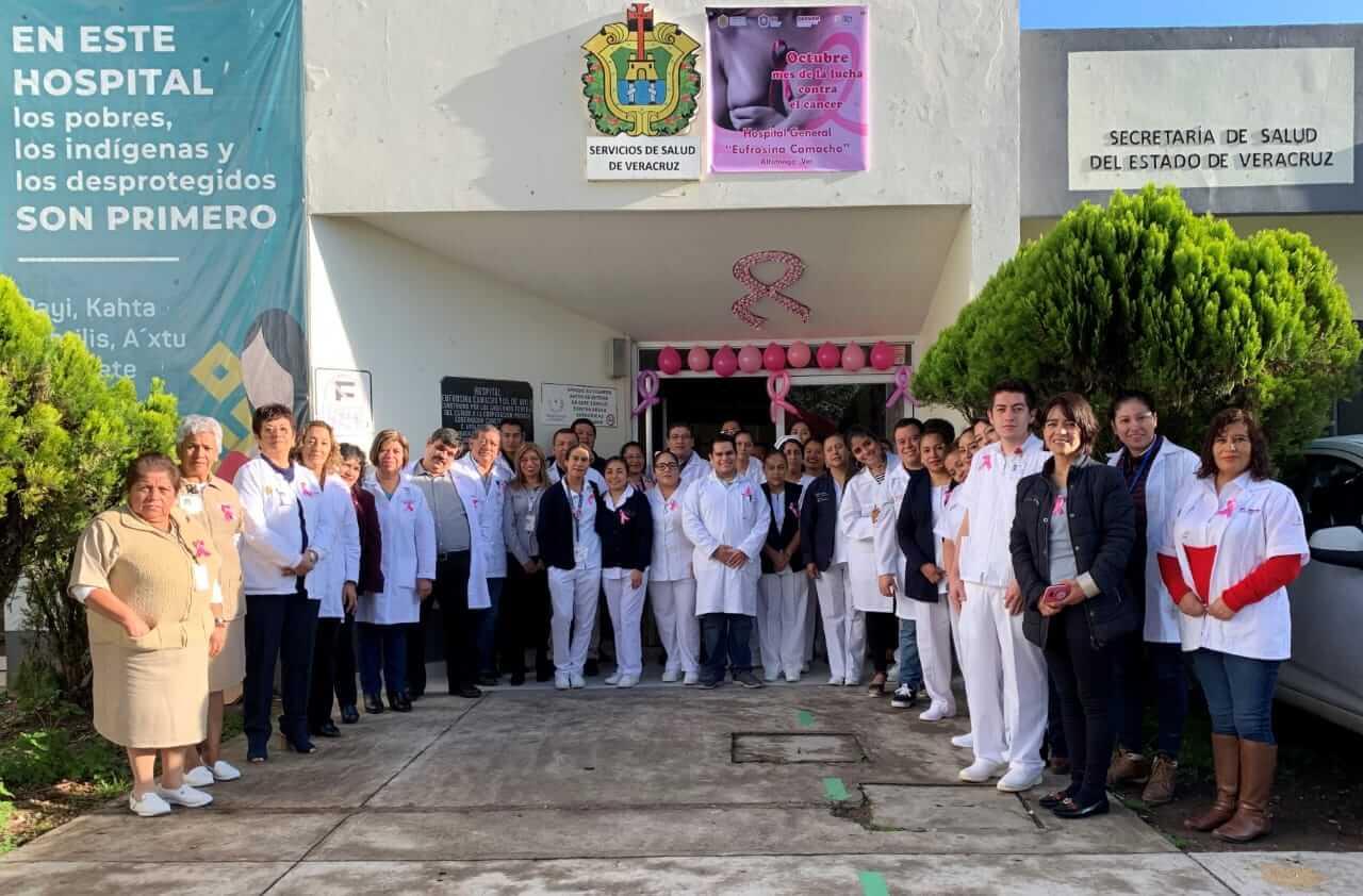 En el marco del Día Internacional de la Lucha contra el Cáncer de Mama, la Secretaría de Salud (SS) implementó acciones en beneficio de las mujeres.