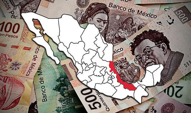 """La deuda pública actual del gobierno del estado de Veracruz es de 103,482 millones de pesos (mdp), según se reporta en el """"2º informe trimestral del gasto público de junio de 2019""""."""