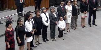 Con 37 votos a favor, 8 en contra y 0 abstenciones, el pleno del Congreso del estado aprobó las propuestas del gobernador, Cuitláhuac García Jiménez para designar a los nuevos magistrados en el Poder Judicial del Estado.