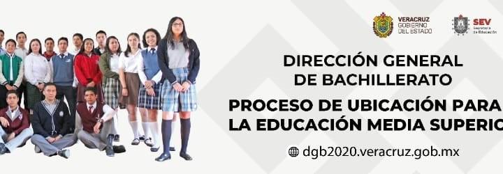 Inicia SEV Proceso de Ubicación a la Educación Media Superior 2020