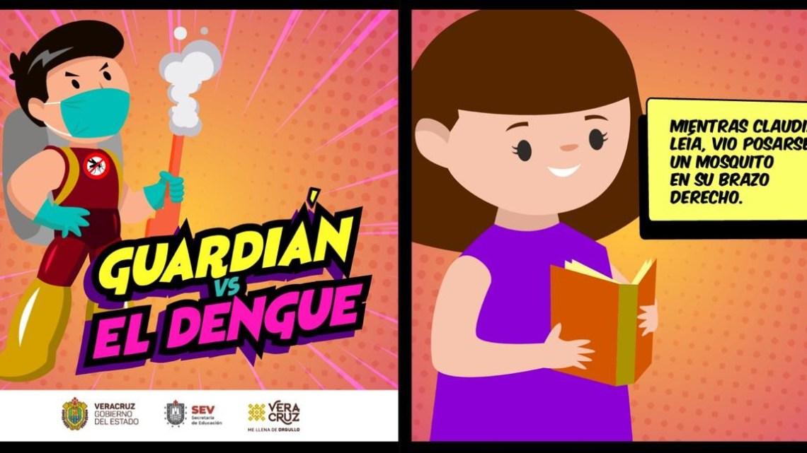 Con actividades lúdicas, invita SEV a las familias a prevenir el dengue