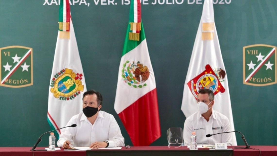 Presentan Veracruz y Oaxaca resultados de la Coordinación para la Construcción de la Paz y Seguridad