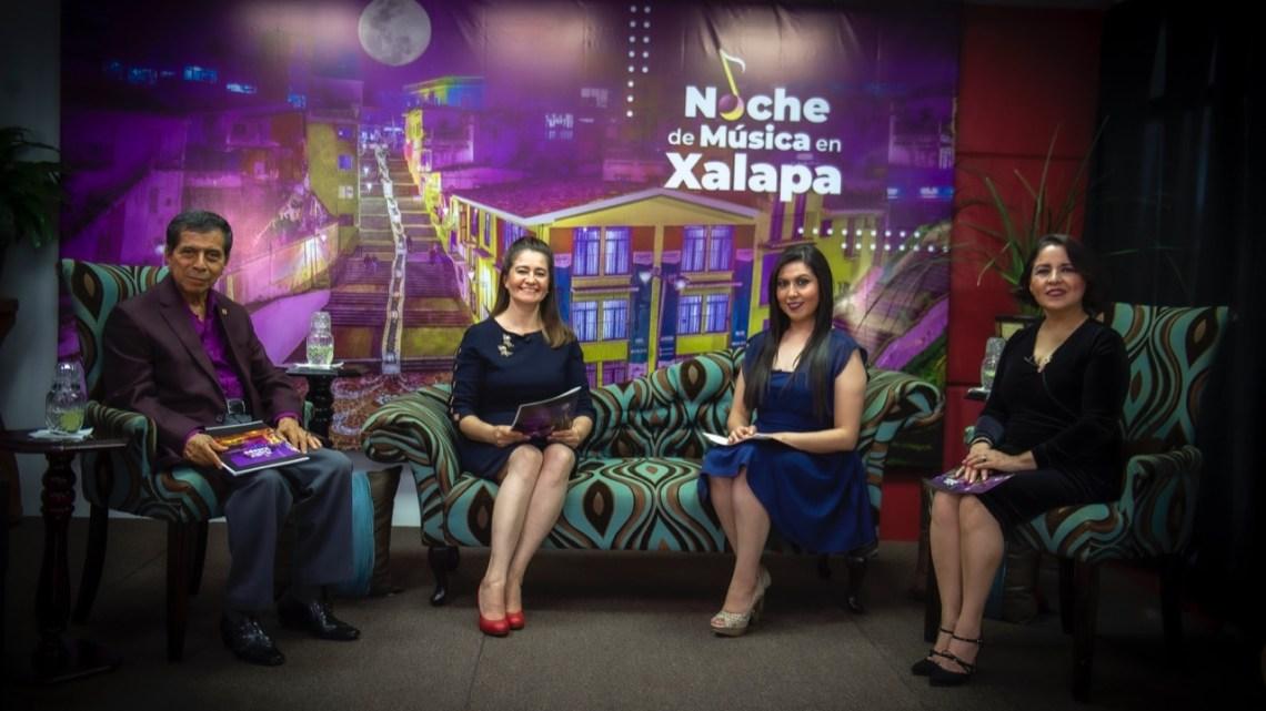 Boleros y más en Noche de Música en Xalapa