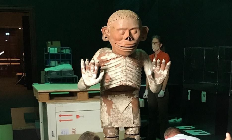 Exposición de cultura Azteca llega a museo en Viena