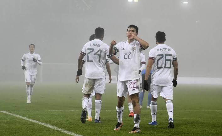 Selección mexicana despide 2020 con triunfo