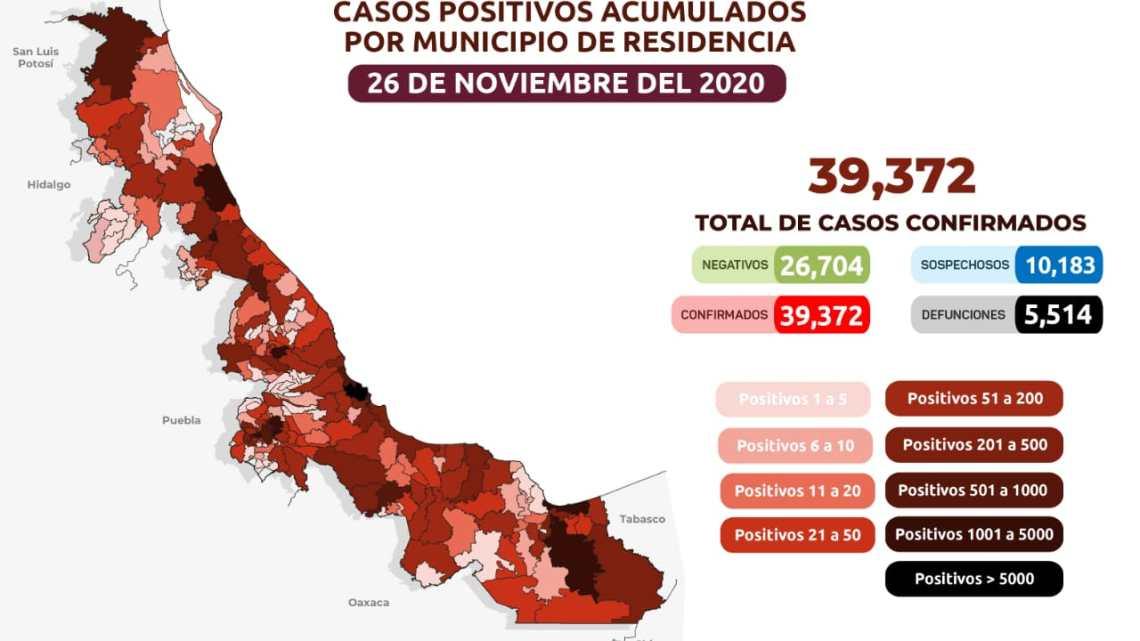 COMUNICADO | Estrategia Estatal contra el coronavirus 26/11/2020