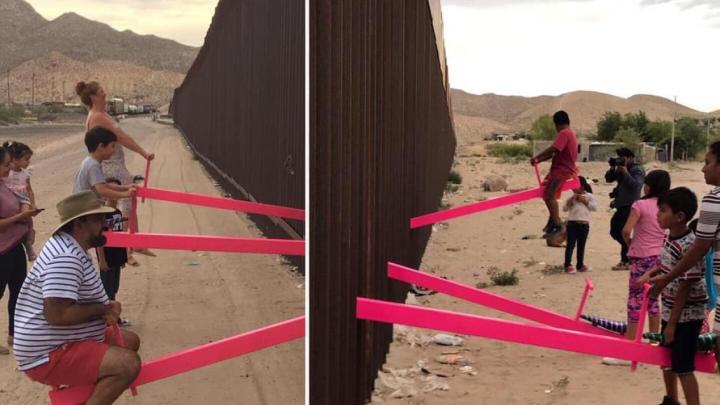 """""""Sube y baja"""" en la frontera de México y EE. UU. galardonado con el Diseño Beazley 2020"""