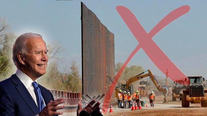 Joe Biden detendrá construcción del muro fronterizo en su primer día de mandato